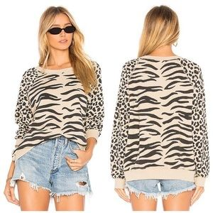 WILD FOX EASY TIGER SOMMERS SWEATER BEIGE
